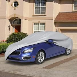 Customized Custom Fit Car Covers UV Protection Scratch Proof Gray Color